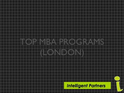 Best 1 Year Mba Programs In Singapore by Top Mba Programs In Ppt