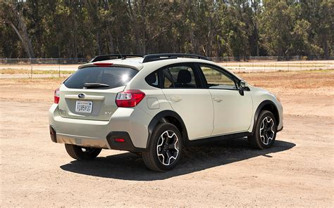 subaru xv crosstrek 2013 subaru xv crosstrek premium rear three quarters photo 2
