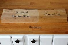Protecting Butcher Block Countertops by Treating Butcher Block Countertops Waterlox Vs Mineral