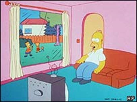 homer simpson couch bbc news americas homer eyes best american prize