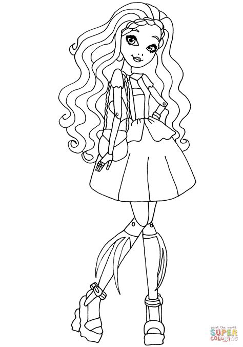 Coloriage Ever After High Cedar Wood Coloriages 224