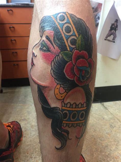 gypsy girl tattoo best 25 tattoos ideas on