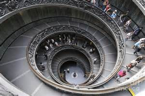 Italy Museum Spiral Staircase By Giuseppe Momo At The Vatican Museum