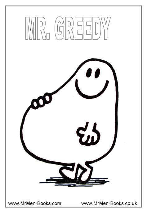 mr men show coloring pages coloring home