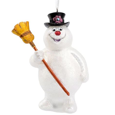frosty the snowman glass ornament bronner s christmas