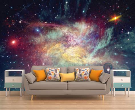 Outer Space Wall Murals space wall mural outer space wall mural galaxy wallpaper