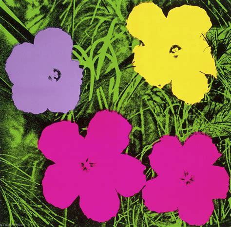 fiori di andy warhol fiori olio su tela di andy warhol 1928 1987 united states