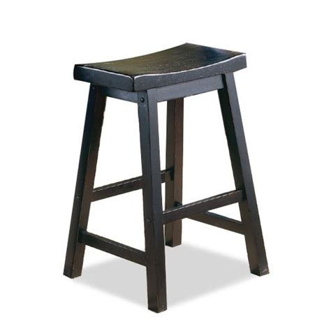 24 Bar Stool Black by Saddle Black 24 Quot Counter Stool