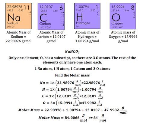 molecular weight math bench what is molar mass definition formula exles