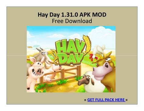 hay day full version apk download hay day 1 31 0 apk mod free download