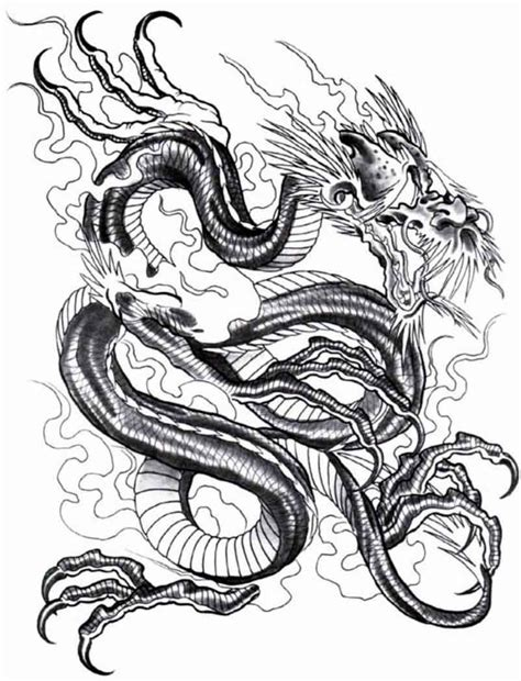 tattoo design dragon designs the is a canvas