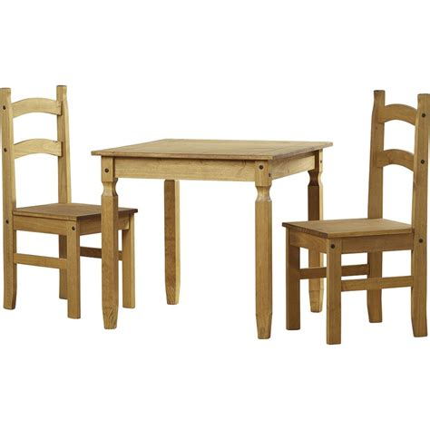 Solid Pine Dining Table Corona Dining Set 2 Seater Chairs Table Solid Pine Wood Mexican Furniture Ebay