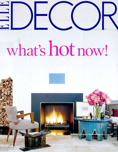 elle decor magazine subscription for 4 50 saving with one year to elle decor magazine 4 50 today only