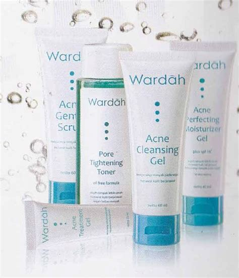 Pelembab Acne Wardah titin septiani acne series wardah