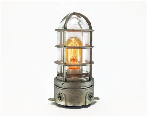 edison style cage table 8 best edison bulb table ls images on pinterest