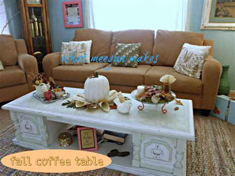 living room painting ideas fall coffee table decor how to my fall coffee table what meegan makes