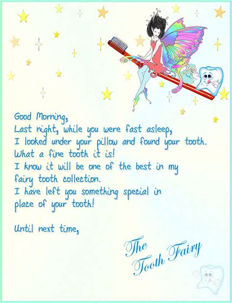tooth fairy letter flickr photo sharing