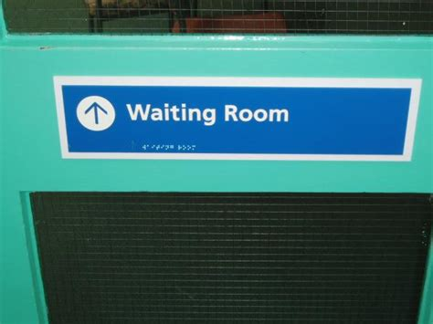 sings in hospital waiting room braille and tactile signage braille signage tactile signage
