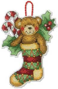 dimensions reindeer christmas ornament cross stitch