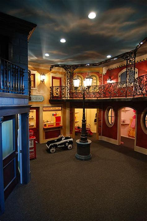 two rooms play two story playroom