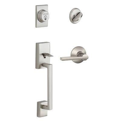 Schlage Exterior Door Locks Schlage Century Latitude Residential Single Lock Front Door Handleset Lowe S Canada