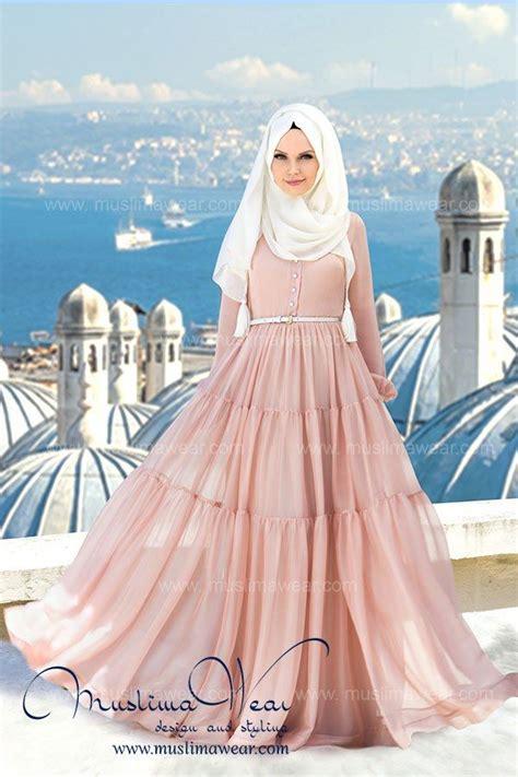 Baju Gamis Maxi Princess Green muslima wear with floral polka dot print