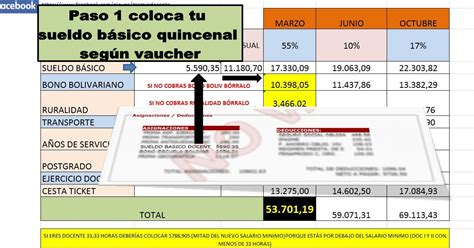 contrato colectivo de los docente la tabla de aumento gremio docente calculadora de contrato colectivo