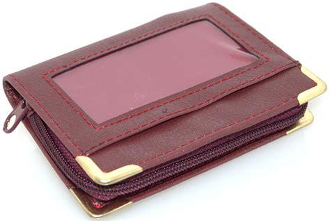 Zip Up Wallet zip up credit card burgundy 16 sleeve wallet