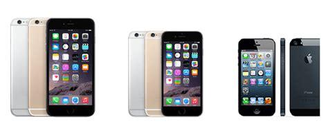 iphone 5 plus iphone 6 plus vs iphone 6 vs iphone 5 specs compared