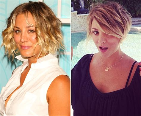 why did kaley cuoco haircut tyra banks photos hot or not stars who ve gotten