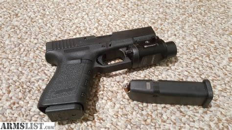 Glock 19 Light by Armslist For Sale Glock 19 3 W Insight Light