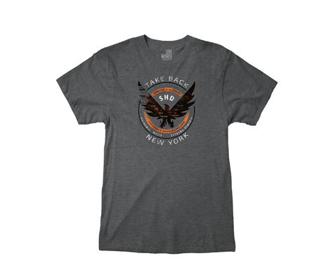 Where To Buy T Shirts Tom Clancy S The Division Take Back New York T Shirt