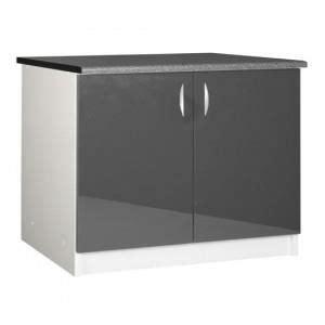 plan de travail cuisine 120 cm meuble cuisine bas 120 cm sous 233 vier oxane gris achat