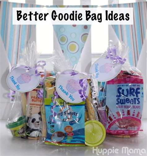 goody bag ideas better goodie bag ideas our potluck family