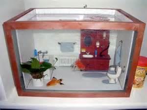 diy aquarium dollhouse diorama petdiys