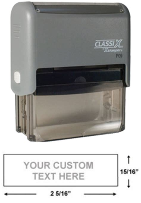 customised rubber st self inking sts 100 images notary st seals delaware