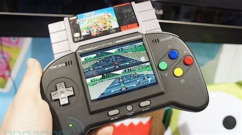 Retro Console System Brings Together The Best Of The 20th Century by Retrobit Retroduo Portable Takes Your Snes On The Go