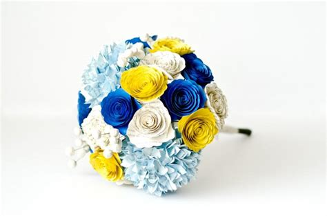 Wedding Bouquet Made From Books by Bridesmaid Or Bridal Bouquet With Hydrangeas Roses