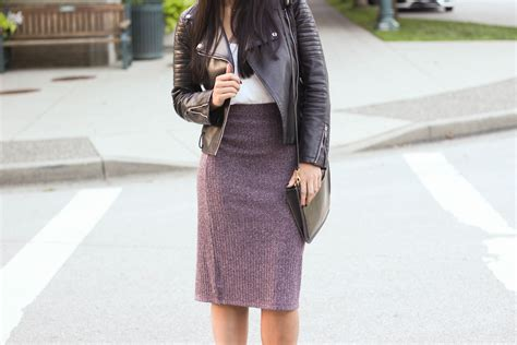 8 Skirts To Fall For by How To Style A Knit Skirt In Betsey