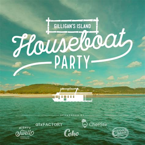 houseboat party gilligan s island houseboat party coho events