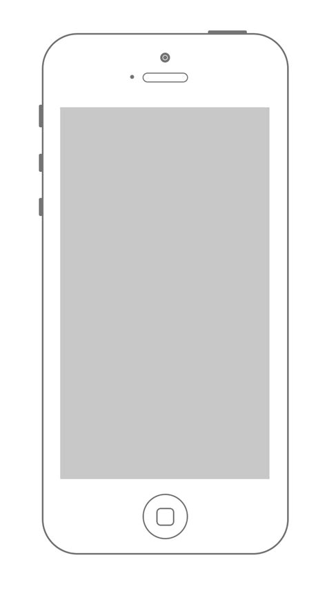 image gallery iphone 5 blank screen template