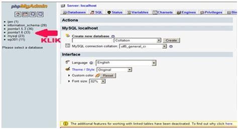 tutorial database mysql di xp dumping database mysql di komputer anda tutorial web hosting