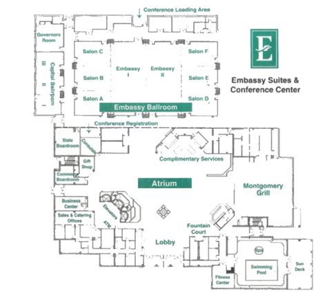 conference floor plan sepa 2016 sepa wac conference vendor information
