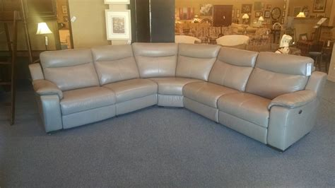 Htl Leather Sectional by Htl Leather Sectional Delmarva Furniture Consignment