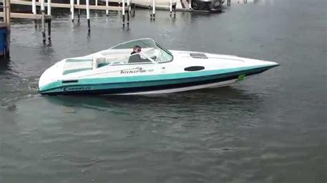caravelle jon boat caravelle 23 interceptor 1 youtube