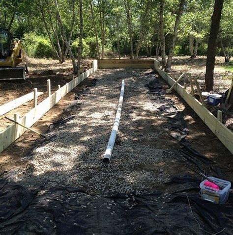 Build Bocce Court Backyard by Drainage For Backyard Bocce Court Outdoor Spaces