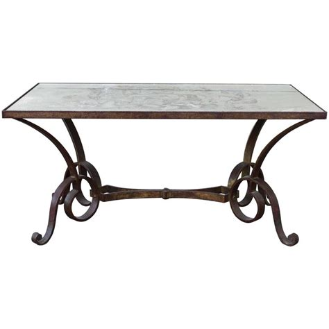 201 glomis 233 wrought iron coffee table for sale at 1stdibs
