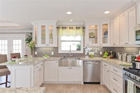 White Kitchen Cabinets With Stainless Appliances White Kitchen Cabinets With Stainless Appliances Kitchen And Decor