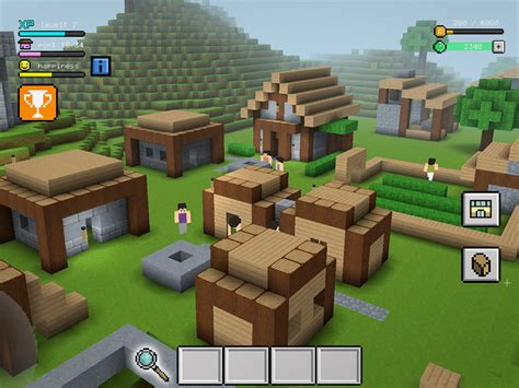 online house builder block craft 3d city building simulator app voor iphone