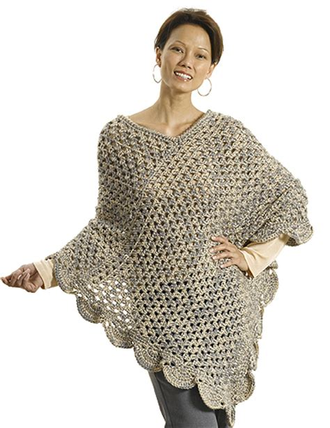 free patterns poncho crochet patterns galore quot the gift quot poncho